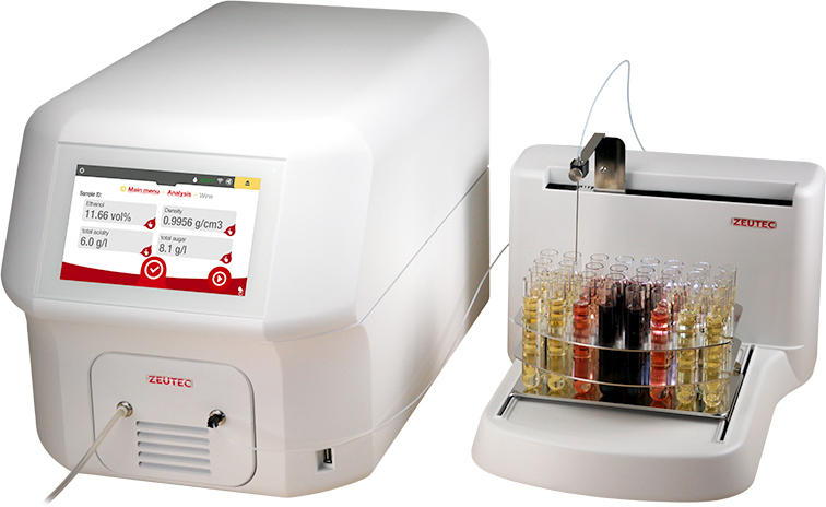 SPA Wine with Autosampler results