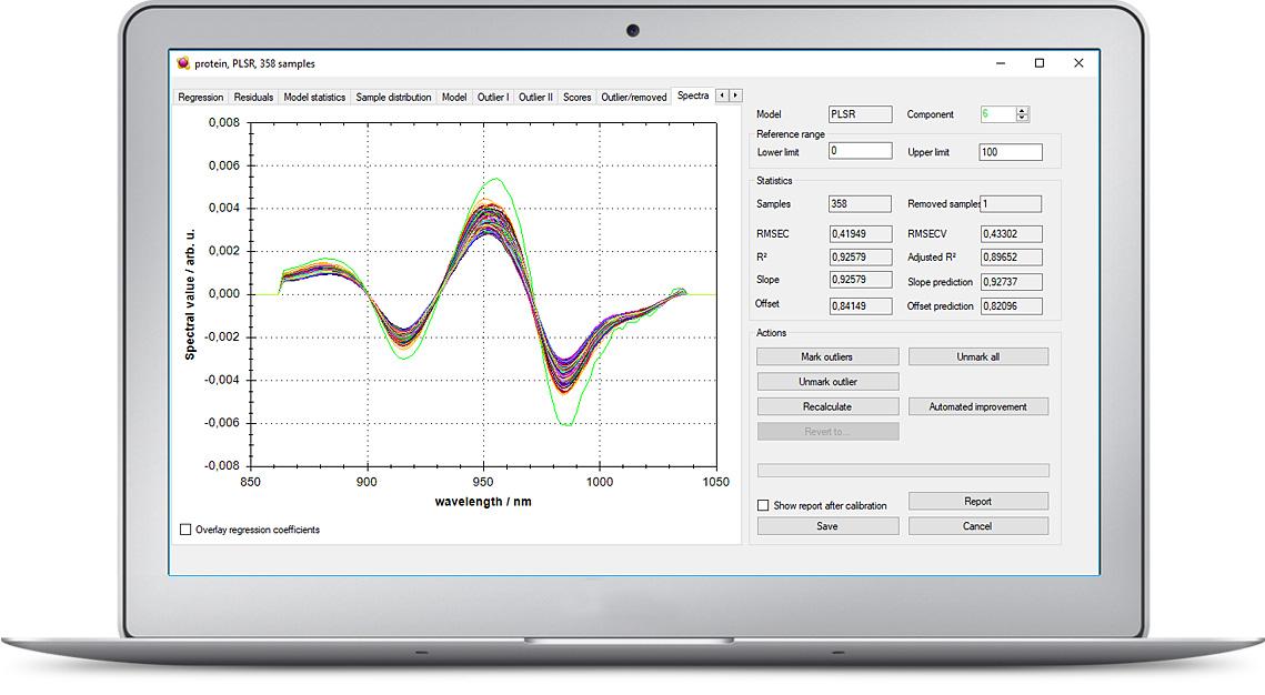 AWX Calibration development - software