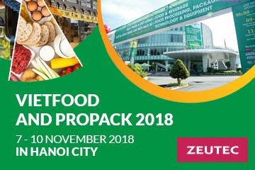 VietFood & Beverage – Propack Vietnam 2018