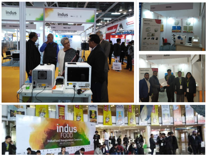 ZEUTEC has participated in Indus Foodtech 2020
