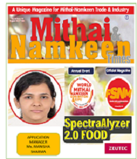 ZEUTEC article published in Mithai and Namkeen Times magazine- August 2021